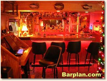 man cave bar plans
