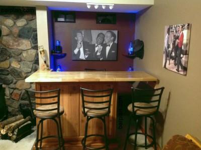 Tony\'s Tiny Bar Project | Easy Home Bar Plans