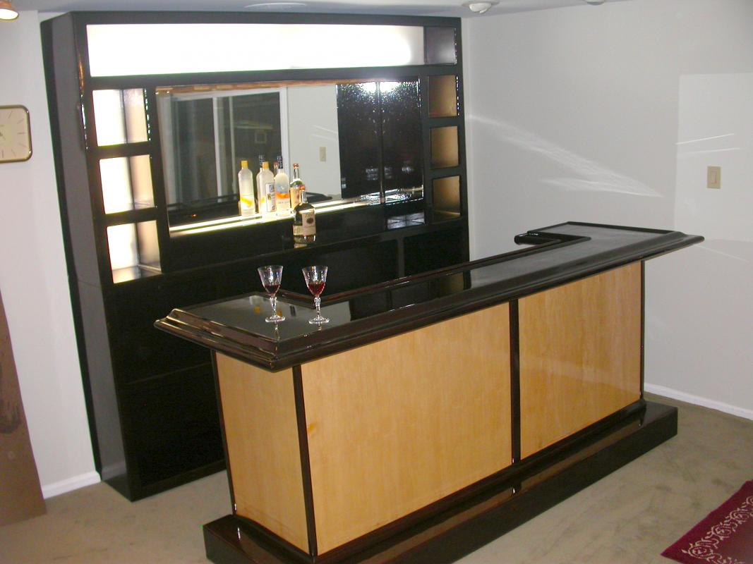 EHBP-03 Straight Wet Bar with Keg Box 25