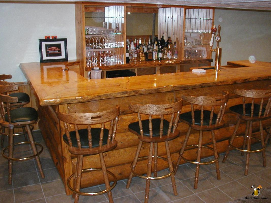Do it yourself home bar project photos easy home bar plans - Bars for house ...