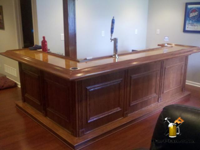 home wet bar project