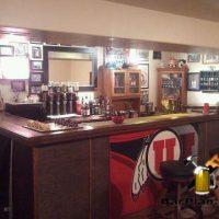 Utah Utes home bar project