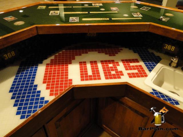 Chicago Cubs Tribute Bar