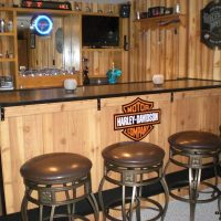 harley home bar