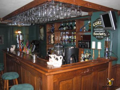 Curtis society home bar installation
