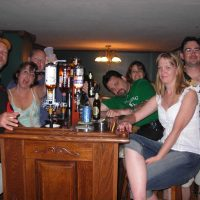home bar party