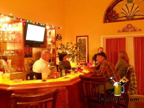 classic home bar entertainment