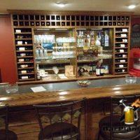 bar back wine rack