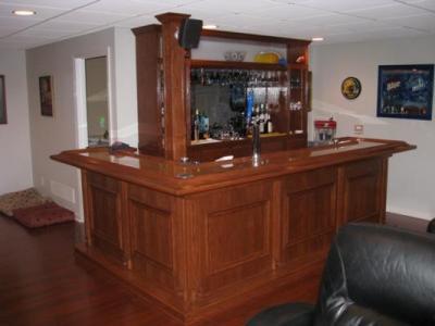 EHBP-02 Basic L-Shaped Home Bar 24