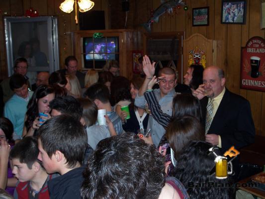 home bar crowd