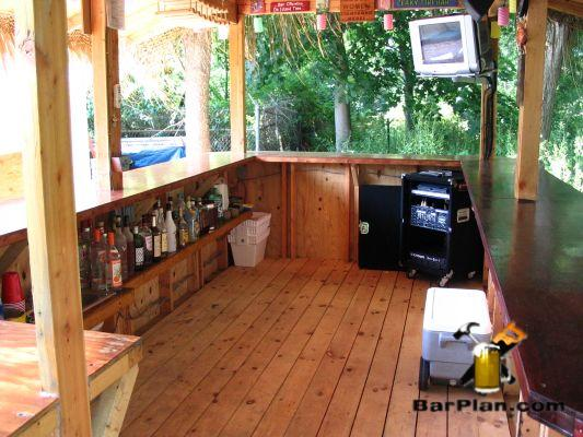 doug kaler long island tiki bar interior