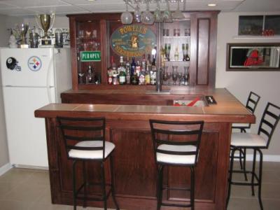 EHBP-02 Basic L-Shaped Home Bar 18
