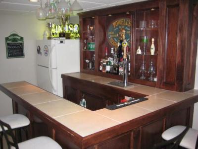 EHBP-02 Basic L-Shaped Home Bar 14