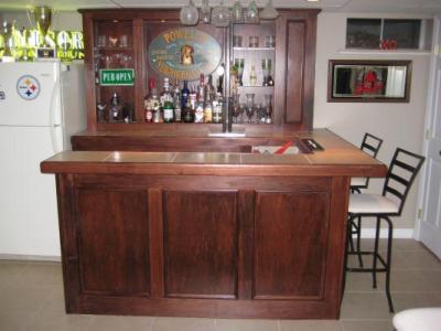 EHBP-02 Basic L-Shaped Home Bar 16