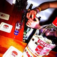 drinking at home cocktail preparation at home bar