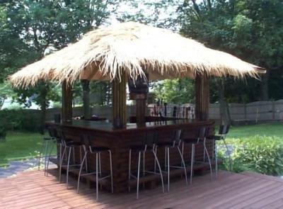Backyard Bar Plans | Easy Home Bar Plans on Tiki Bar Designs For Backyard id=63679