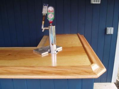 EHBP-02 Basic L-Shaped Home Bar 20