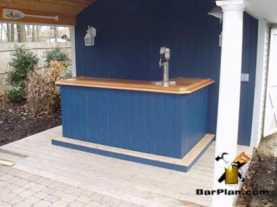 EHBP-02 Basic L-Shaped Home Bar 19