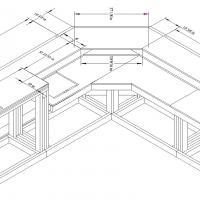 home bar assembly diagram