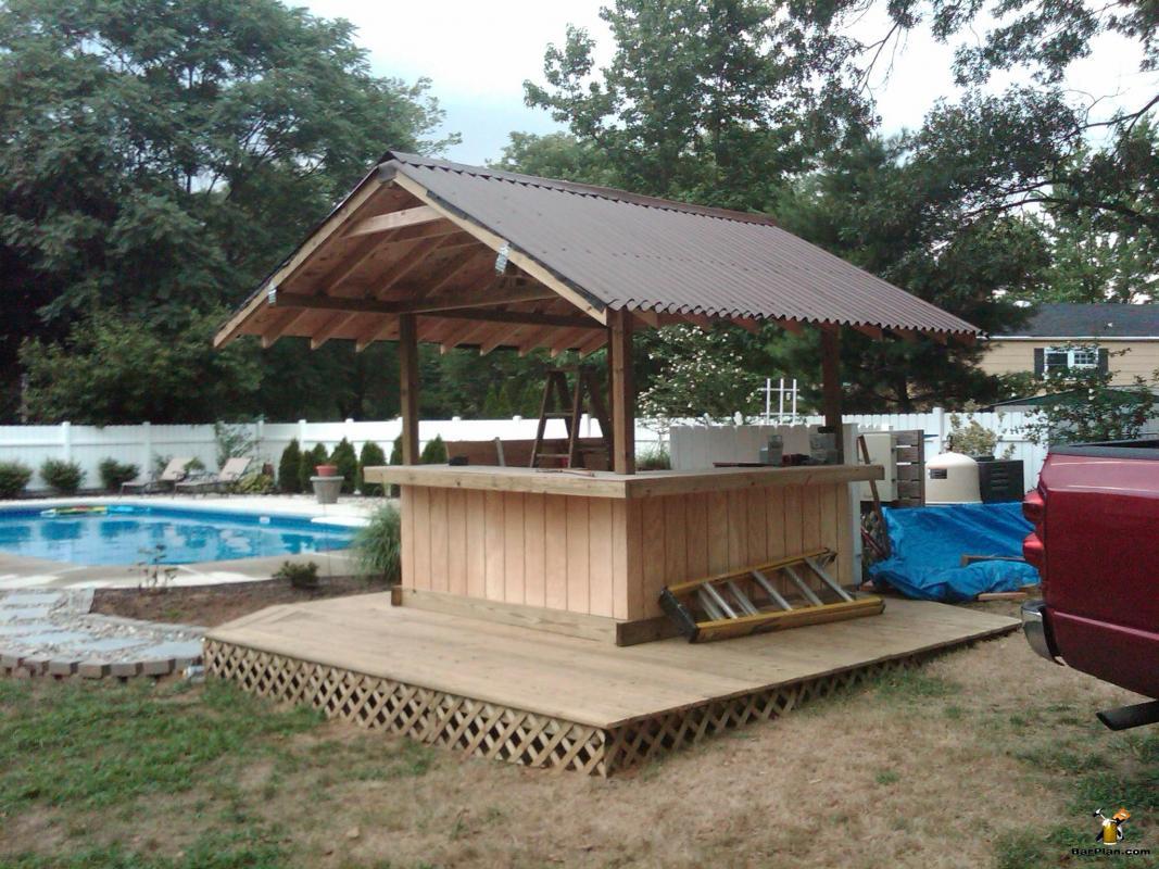 EHBP-20 Tiki Bar Hut Design 1