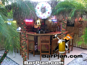 EHBP-20 Tiki Bar Hut Design 9