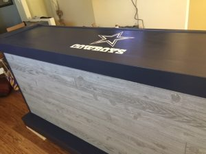 dallas cowboys theme bar