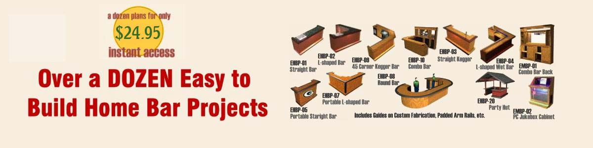 what you get easy home bar plans 2020