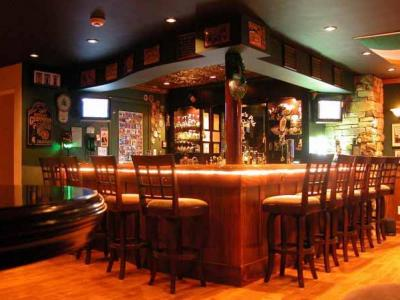 Irish bar pub