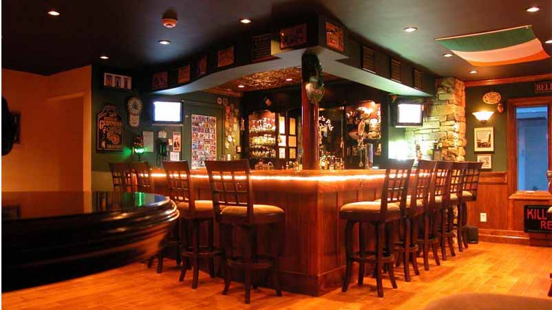 Build a Home Bar with the Easy Home Bar Plan Designs 1