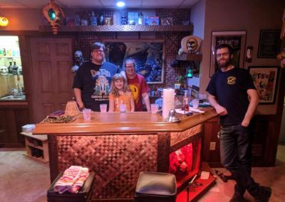 tiki bar with fun people