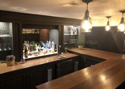 custom u shaped bar