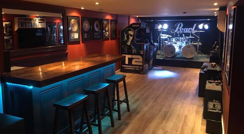 Build a Home Bar with the Easy Home Bar Plan Designs 3
