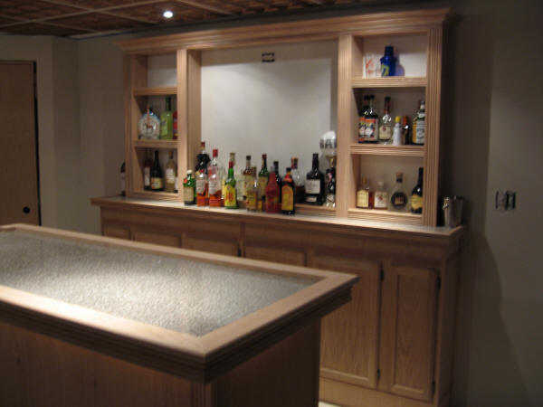 bar back without finish