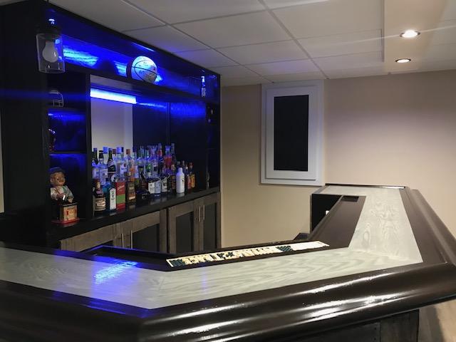 home bar design 45 corner pallet wood and steel