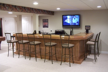basement sports bar