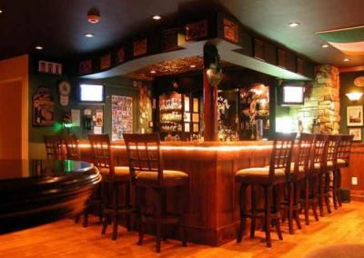 home bar irish pub