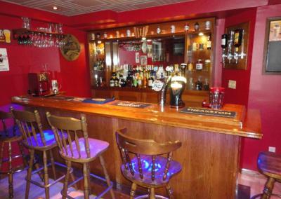 Drunken Skunk Home Bar Front View