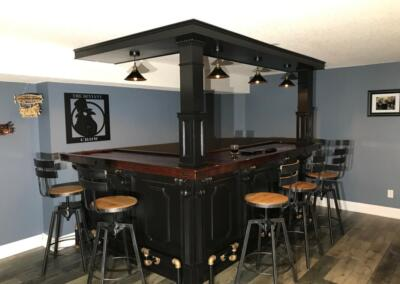 The Deviant Crow Home Bar