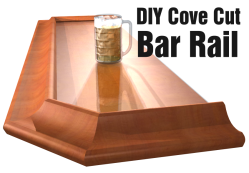 diy cove cut arm rail