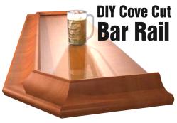 diy cove cut arm rail